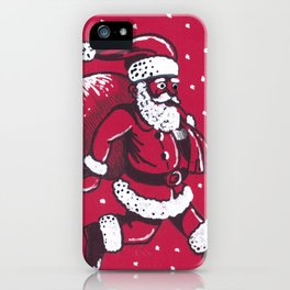 Santa Claus is coming to town iPhone Case