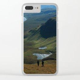 Trotternish Ridge Clear iPhone Case