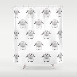 Whole Lotta Buns Shower Curtain