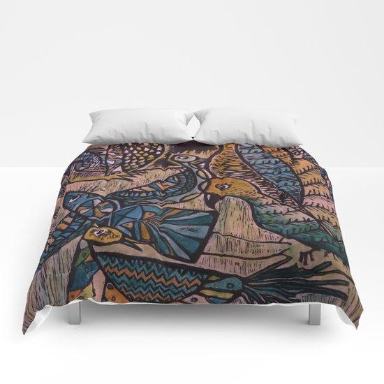 Birds (2) Comforters