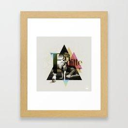 Divas: Brigitte Bardot. Framed Art Print