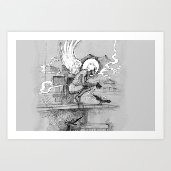AngelPushach Art Print