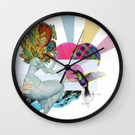It Will Follow You Wall Clock