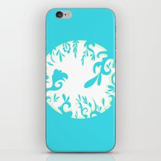 Abstractly Blue  iPhone & iPod Skin