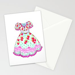 Sweet Peach Lolita Stationery Cards