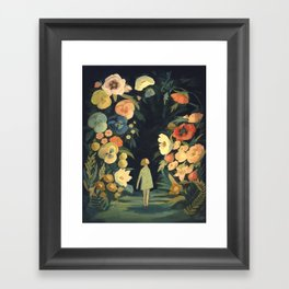 The Night Garden Framed Art Print