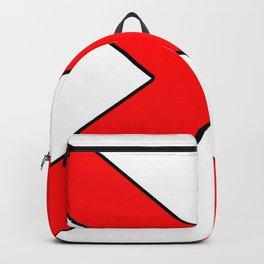 Saint andrew's cross 1- Backpack