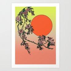 Pugry Blossom Art Print