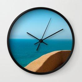 balcony in paradise Wall Clock