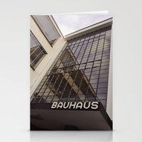 bauhaus Stationery Cards featuring Bauhaus by Nat Alonso