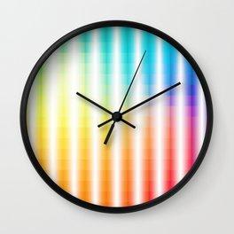 Beautiful colors Wall Clock