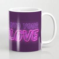 charli xcx Mugs featuring SuperLove / Charli XCX by Justified
