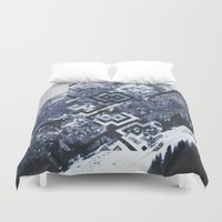 geo Duvet Covers featuring GEO by MIRA design
