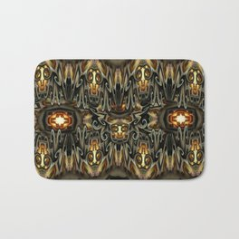 K-108 Abstract Lighting Abstract Bath Mat