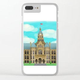 Courthouse - Warren Ohio 100 Clear iPhone Case