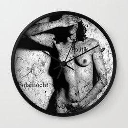 Politik Wall Clock