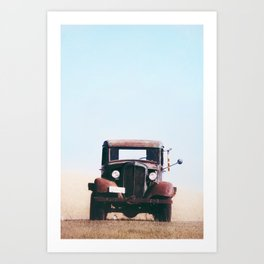 Country Truck Art Print