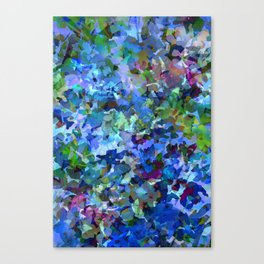 Blue Violet Woods Canvas Print
