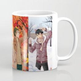 HAIKYUU!! - 1st YEAR 4 SEASONS Coffee Mug