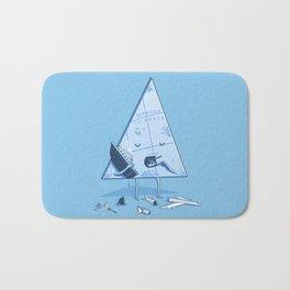 Bermuda triangle Bath Mat