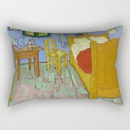 The Bedroom by Van Gogh Rectangular Pillow