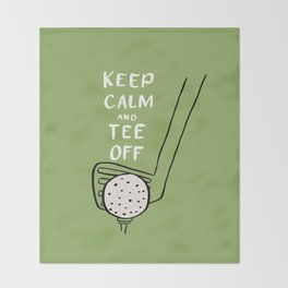 Tee Off Throw Blanket