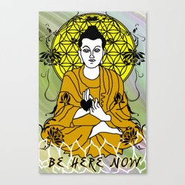 Higher Buddha Self Canvas Print