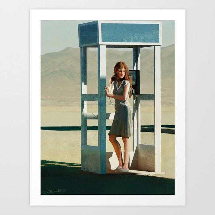 Heat and Long Shadows - 2015 Art Print