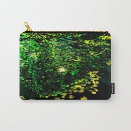 the Water Lilly Carry-All Pouch