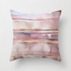 Elusive Strata Throw Pillow