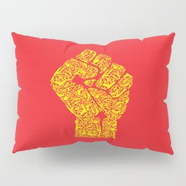 The Hand of Revolution Pillow Sham