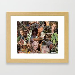 WHEREVER YOU WANDER Framed Art Print