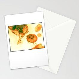 Vintage Jellyfish Stationery Cards