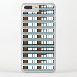 Edificio Las Américas -Detail- Clear iPhone Case