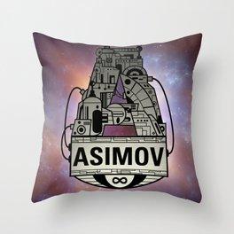 Forever Asimov  Throw Pillow