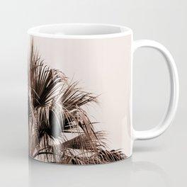 Palm tree top monochrome Coffee Mug
