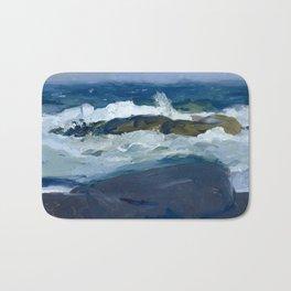 George Bellows - Rock Reef, Maine, 1913 Bath Mat