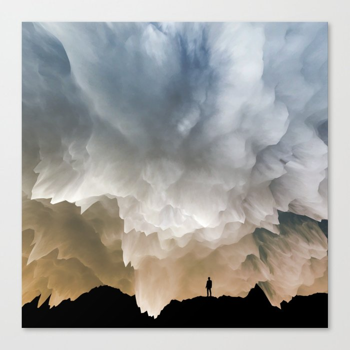 Cause and effect Canvas Print