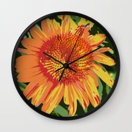Seed Packet of a flower that doesn't exist IRL Wall Clock
