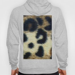 Exotic Spotted Leopard Print  Hoody