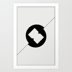 Break Spot Art Print