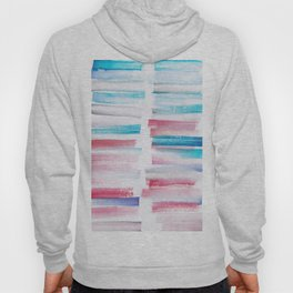 15 | 181101 Watercolour Palette Abstract Art | Lines | Stripes | Hoody