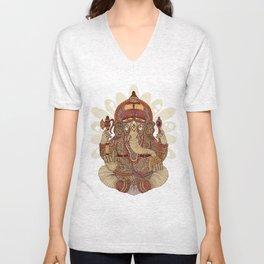 Ganesha: Lord of Success Unisex V-Neck