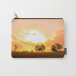 Golden sunset. Carry-All Pouch