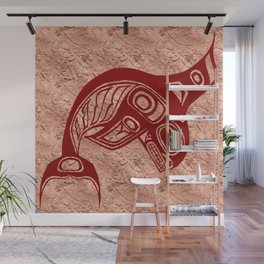 Blood Keét Copper Wall Mural