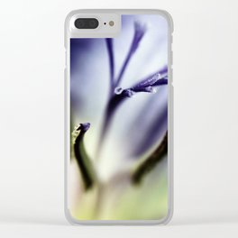 Freesia flowers Clear iPhone Case