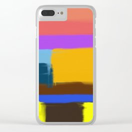 Abstract No 506 By Chad Paschke Clear iPhone Case