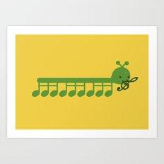 Caterpillar Song Art Print