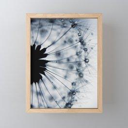 dandelion blue XV Framed Mini Art Print