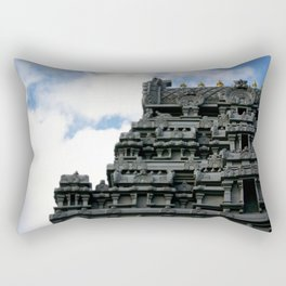 NYC Temple on Bowne St Rectangular Pillow